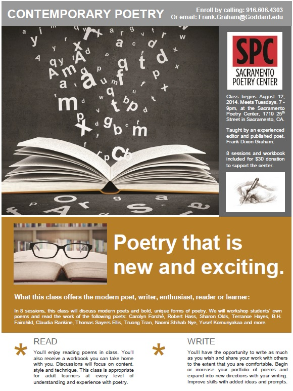 contemporary poetry class moves to alliance fran u00e7aise