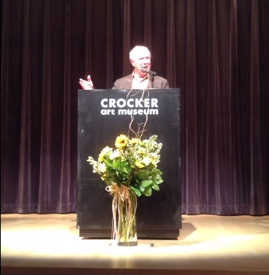 Robert Hass reads at The Crocker Art Museum