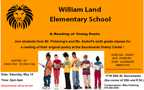 William Land Elementary School Young Poets